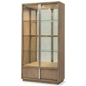 Klaussner International Milo Display Cabinet