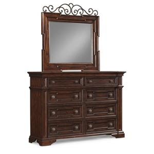 Belfort Basics Chesterbrook Dresser and Mirror Set