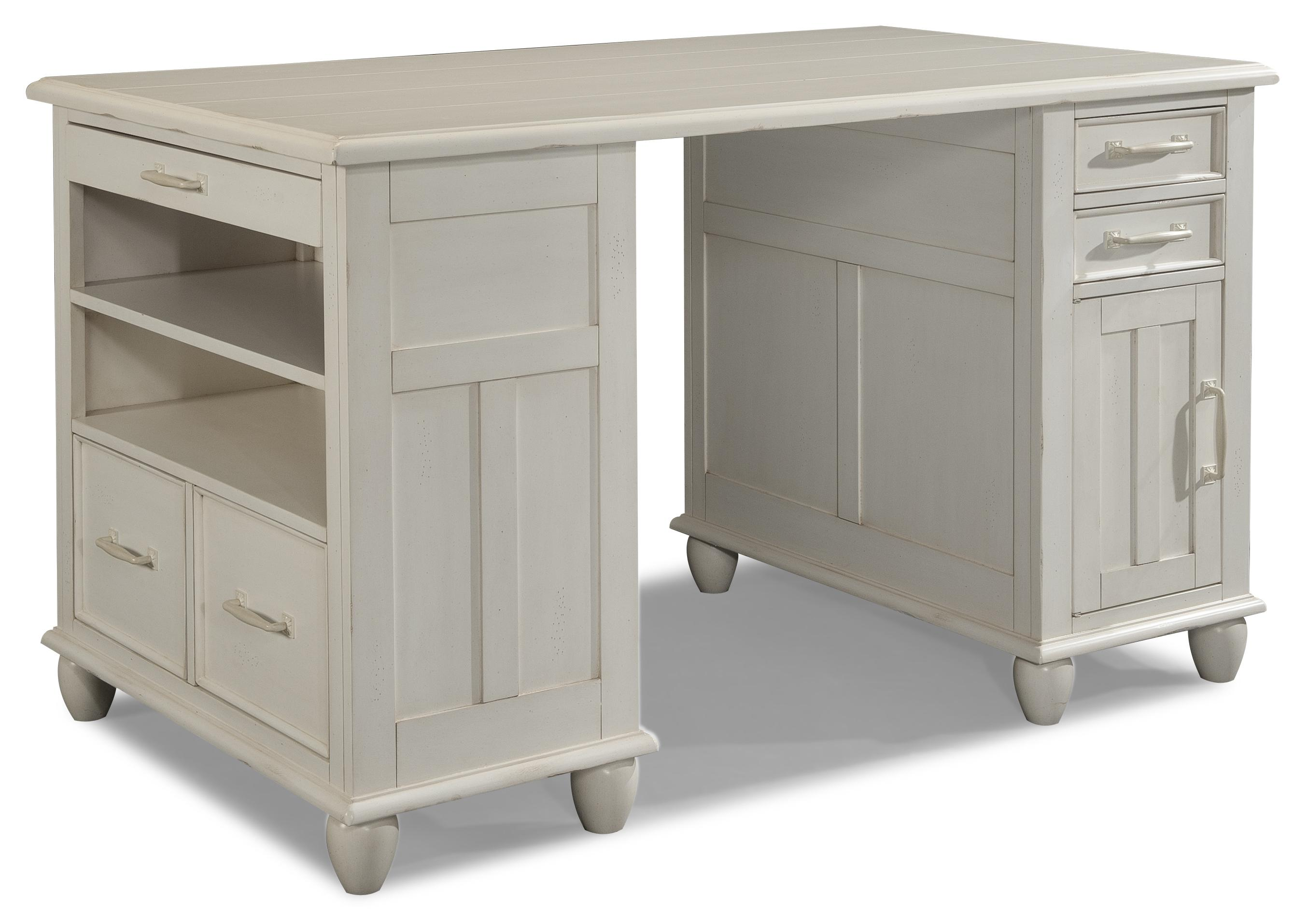Carolina Preserves by Klaussner Sea Breeze Day Dream-Complete White Desk - Item Number: 424-850 DESK
