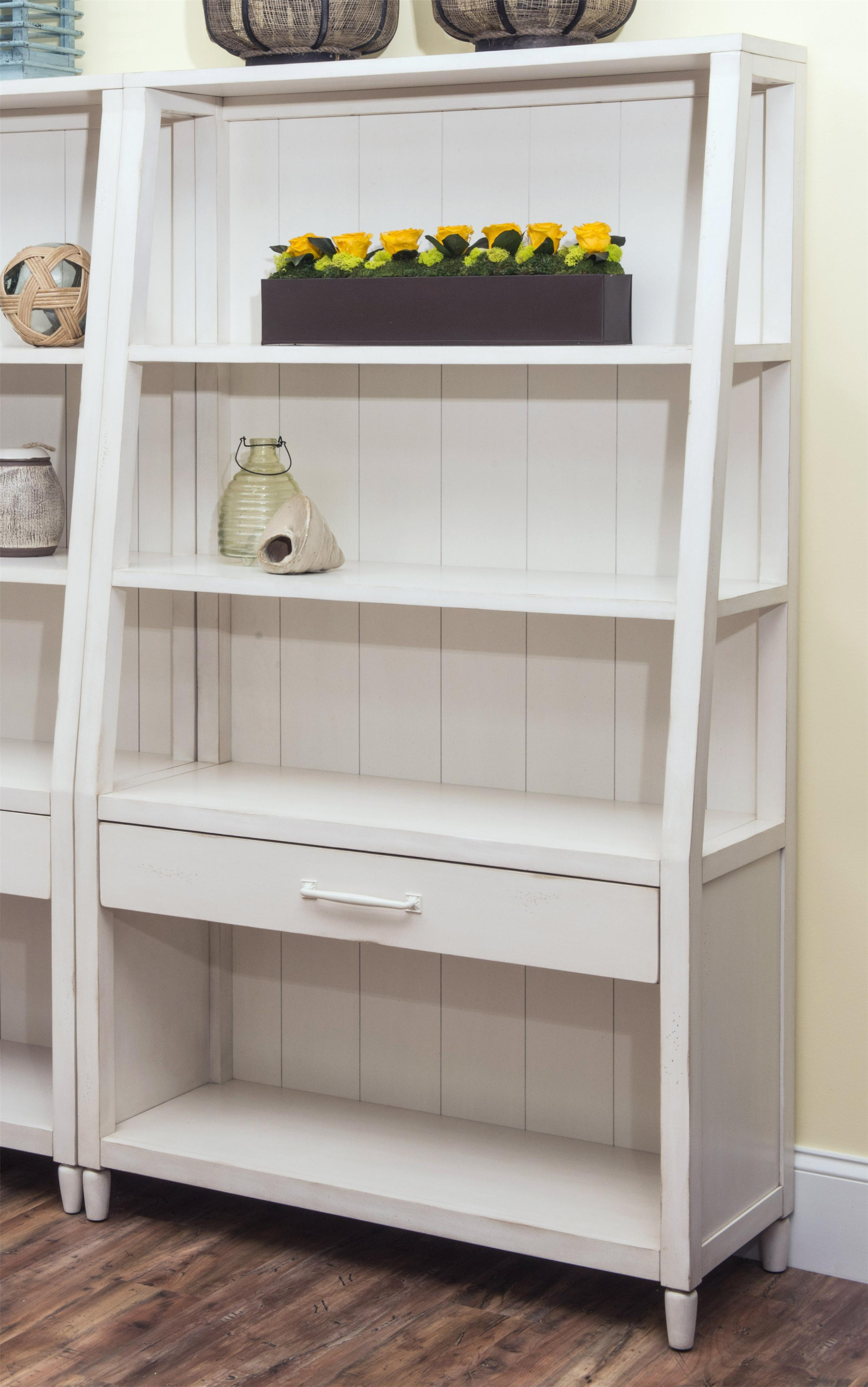 Splish Splash-White Bookcase