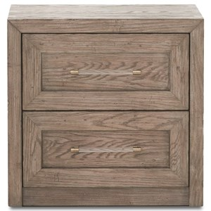 Klaussner International Studio Gray Night Stand