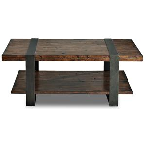 Metropia International Timber Forge Cocktail Table
