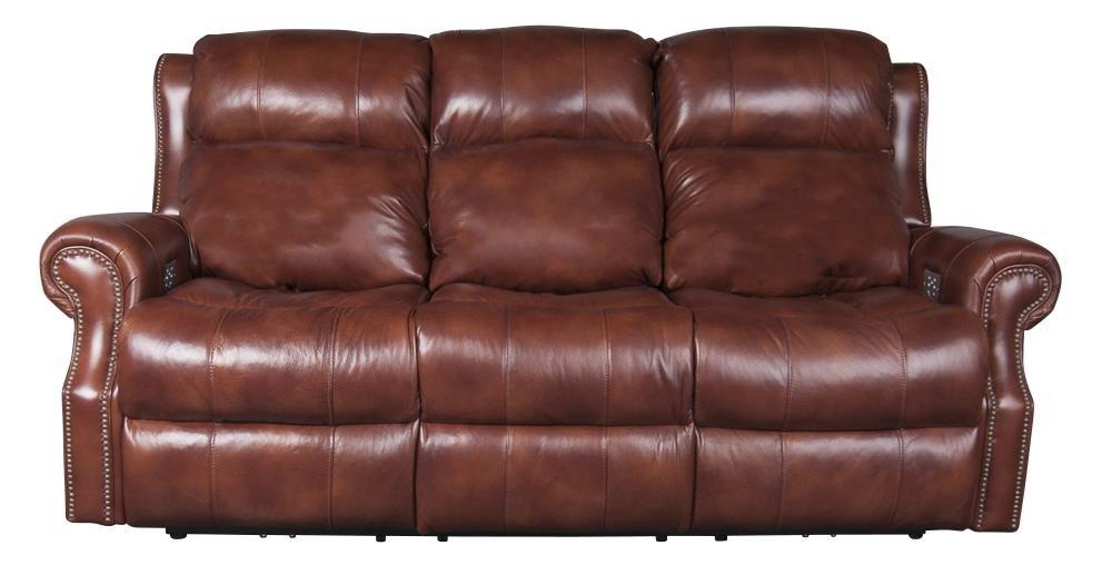 Underwood Leather Match Power Sofa