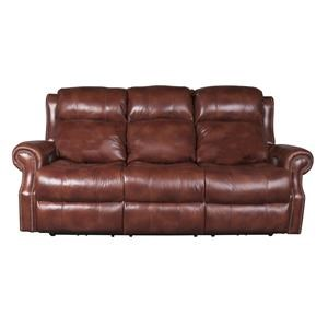Underwood Leather Match Power Sofa