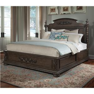 Klaussner International Versailles Queen Bed