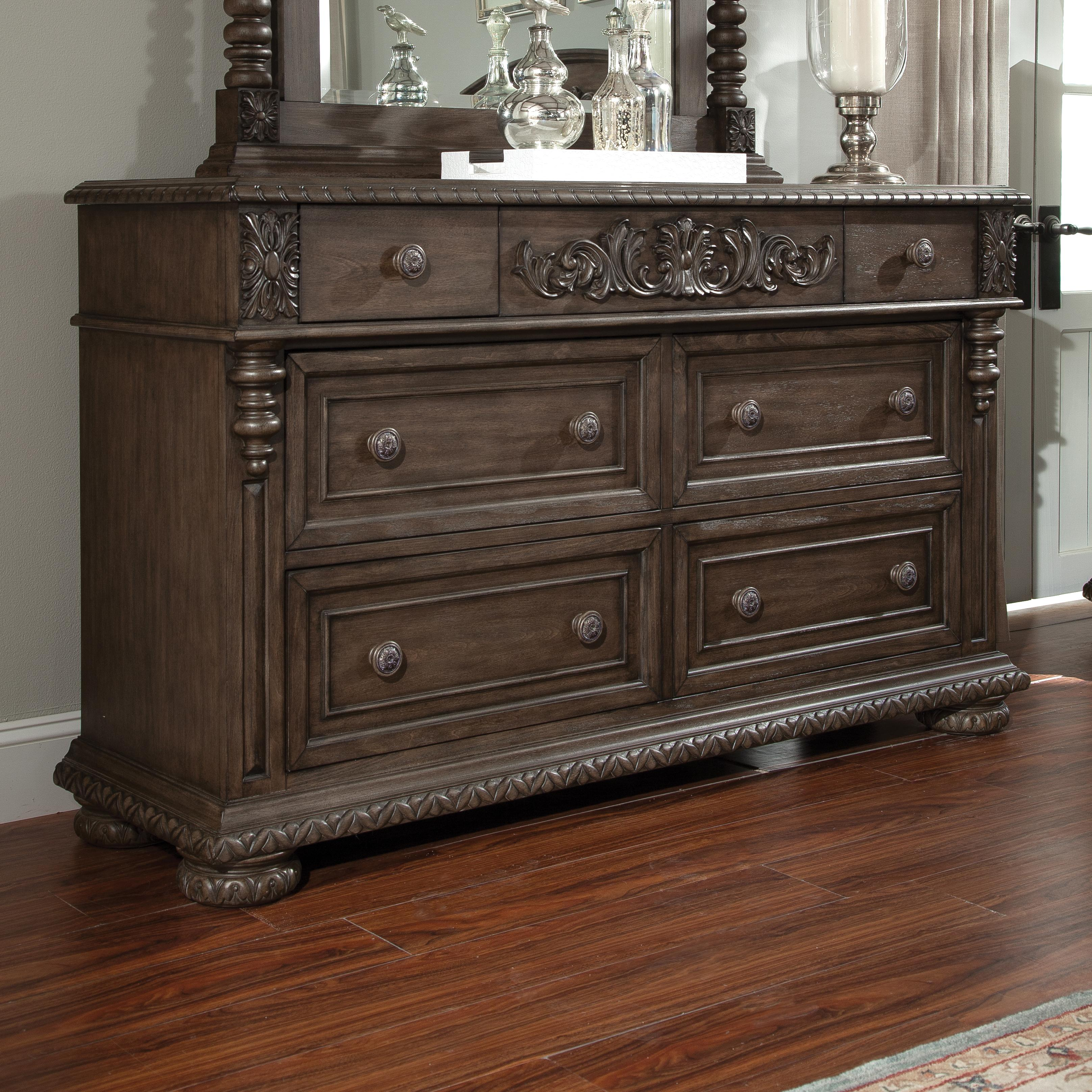 Belfort Basics Virginia Manor Dresser - Item Number: 980-650 DRES