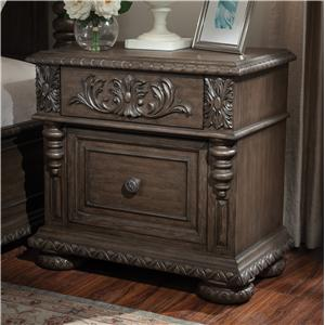 Klaussner International Versailles Night Stand