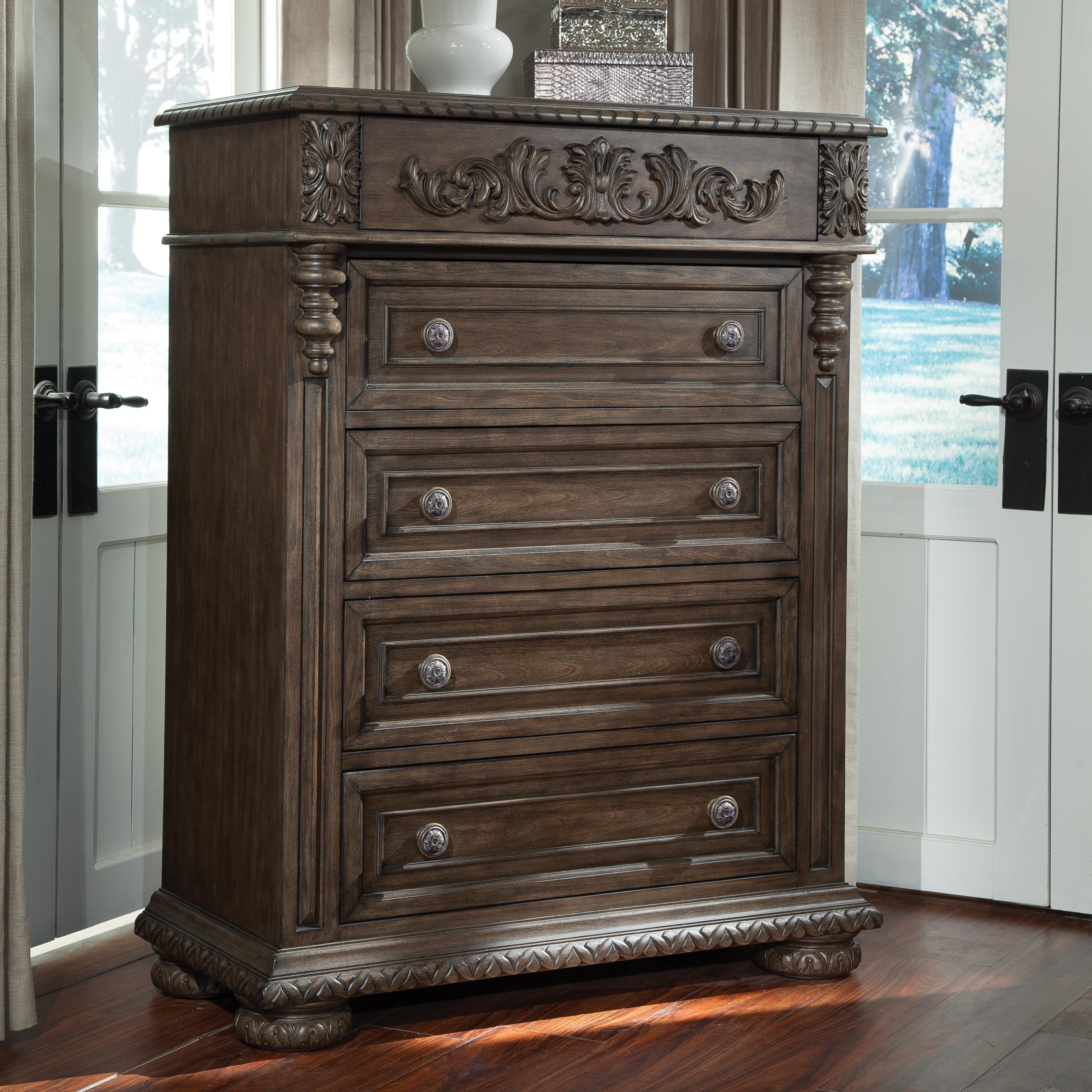 Belfort Basics Virginia Manor Drawer Chest - Item Number: 980-681 CHEST