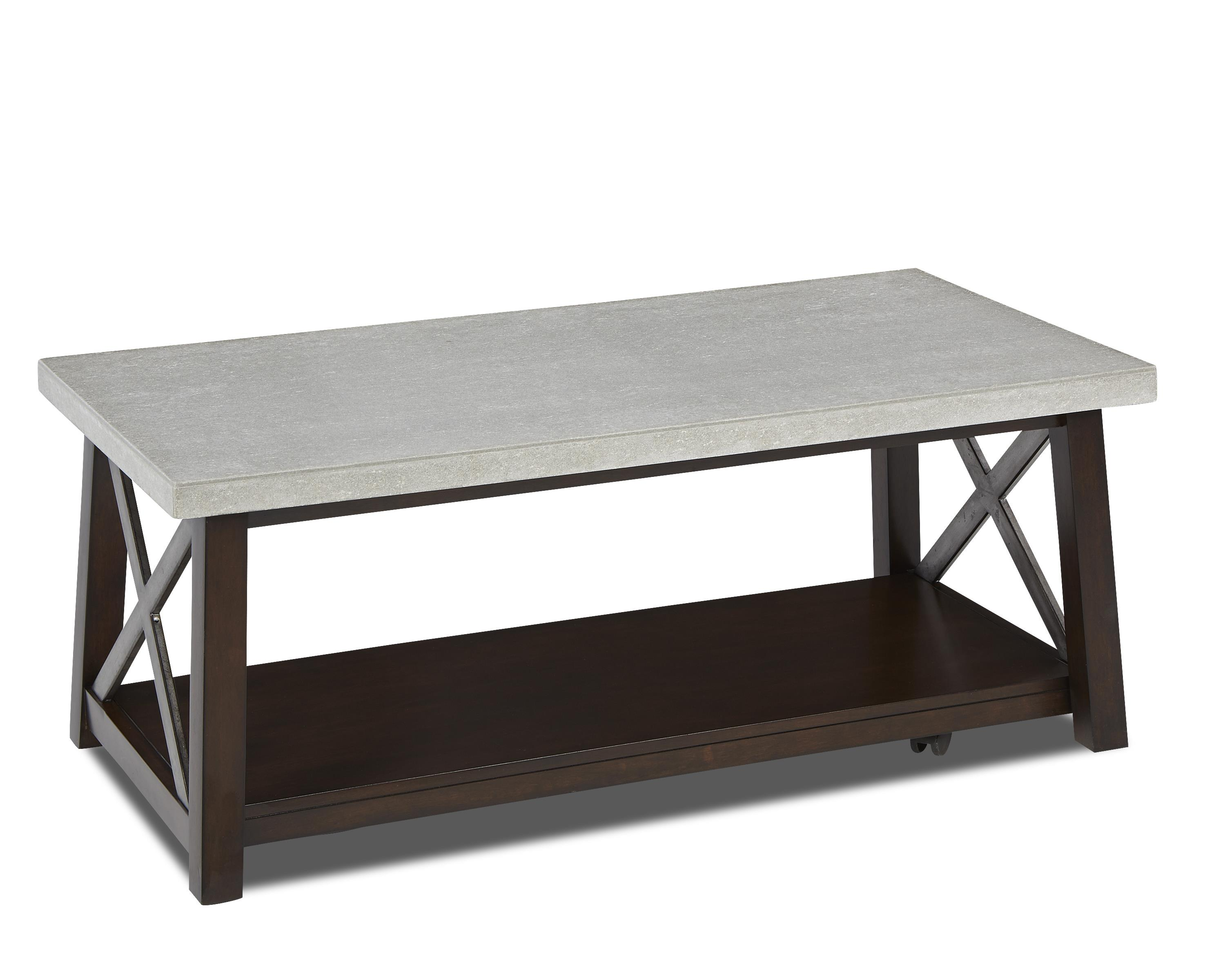 Belfort Basics Viewpoint Cocktail Table - Item Number: 702-819 CTBL