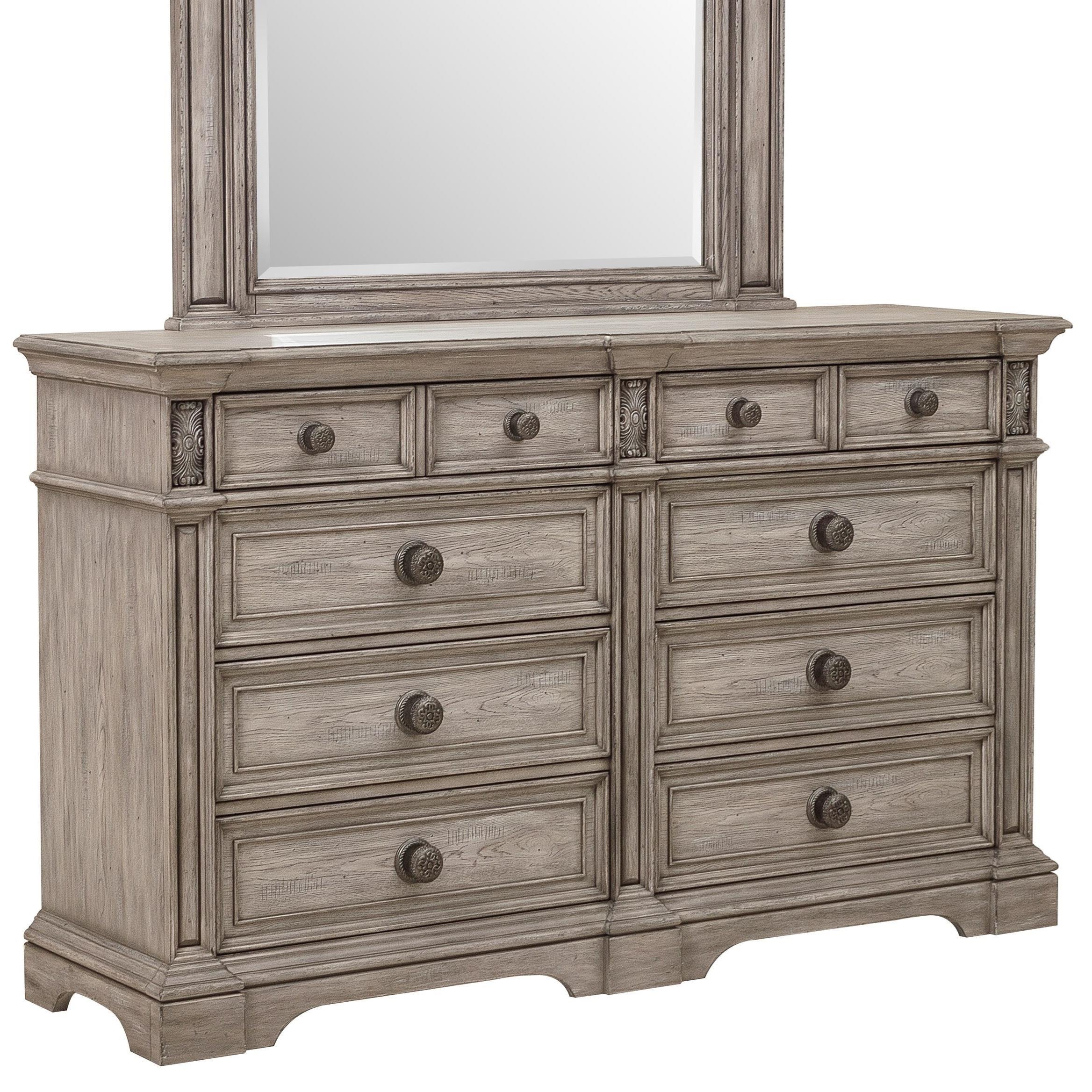 Windmere Dresser by Klaussner International at Beck's Furniture