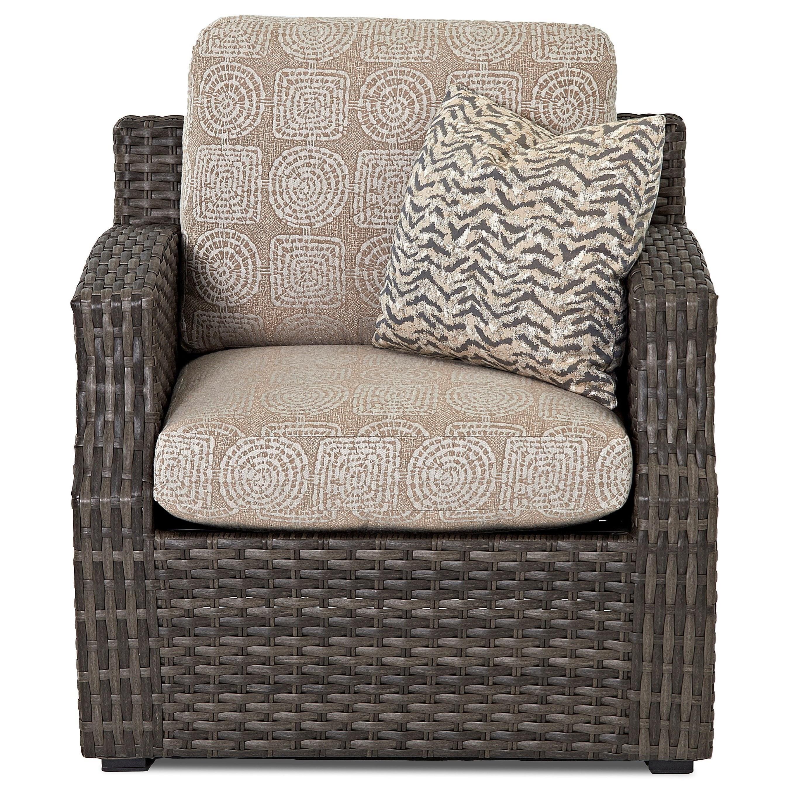 Chair w/ Reversible Cushion