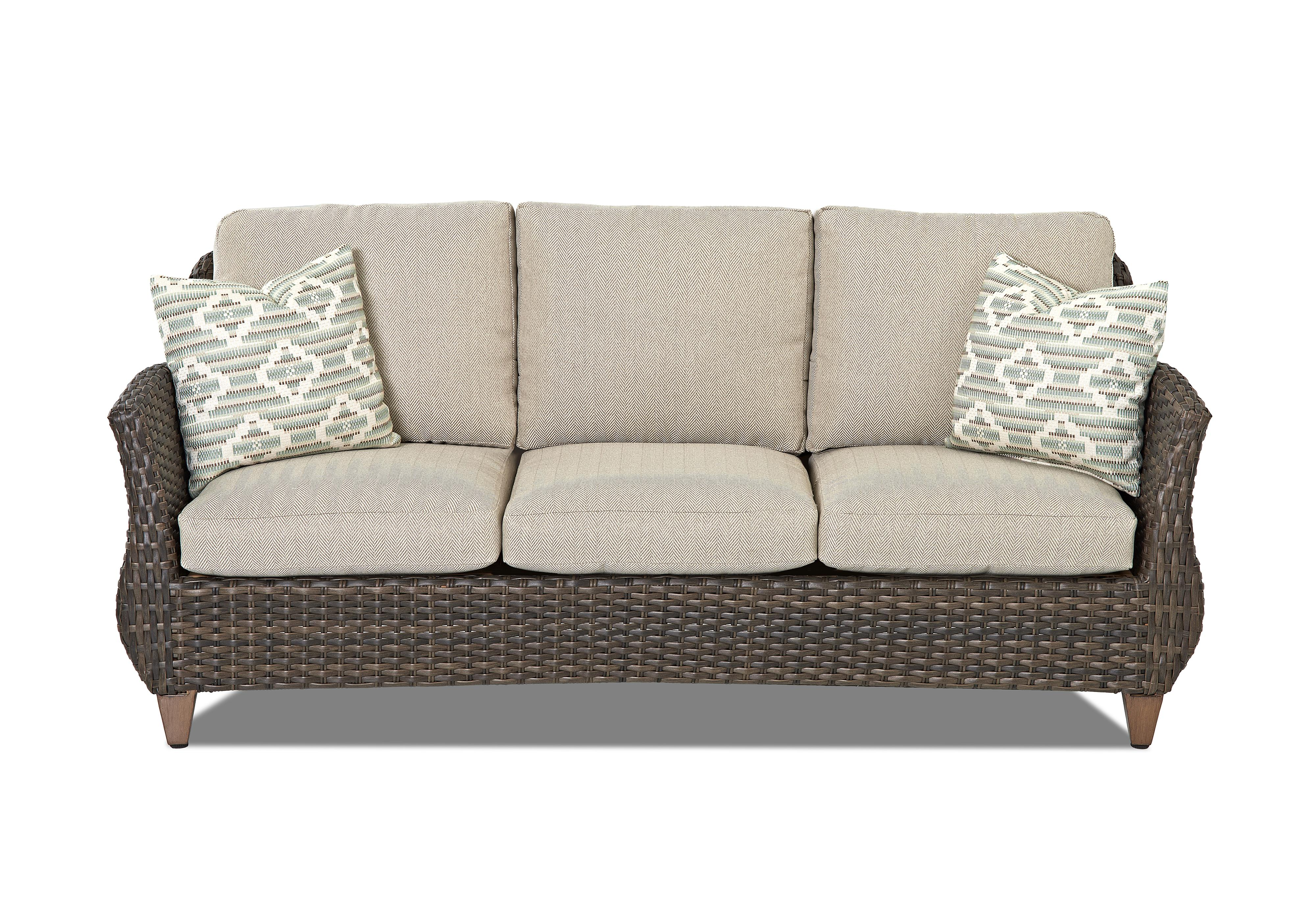 Sycamore Outdoor Sofa by Klaussner Outdoor at Rooms for Less