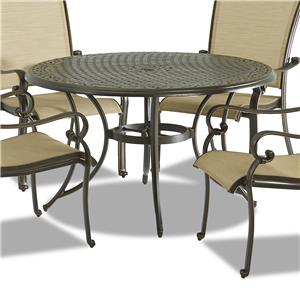 "Klaussner Outdoor Basics 48"" Dining Table"
