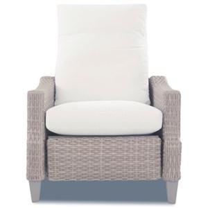 High Leg Recliner w/ Reversible Cushion