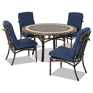 5 Pc Outdoor Dining Set