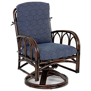 Swivel Rock Dining Chair