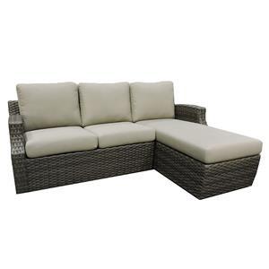 Belfort Outdoor Cascade Outdoor Sofa Chaise
