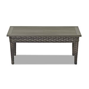 Klaussner Outdoor Cascade Rectangular Cocktail Table