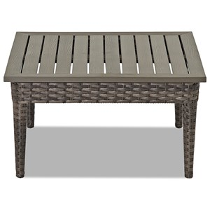 Klaussner Outdoor Cascade Square Cocktail Table