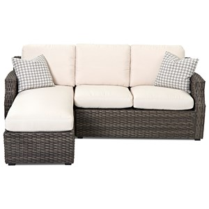 Outdoor Sectional Sofa (Drainable Cushion)
