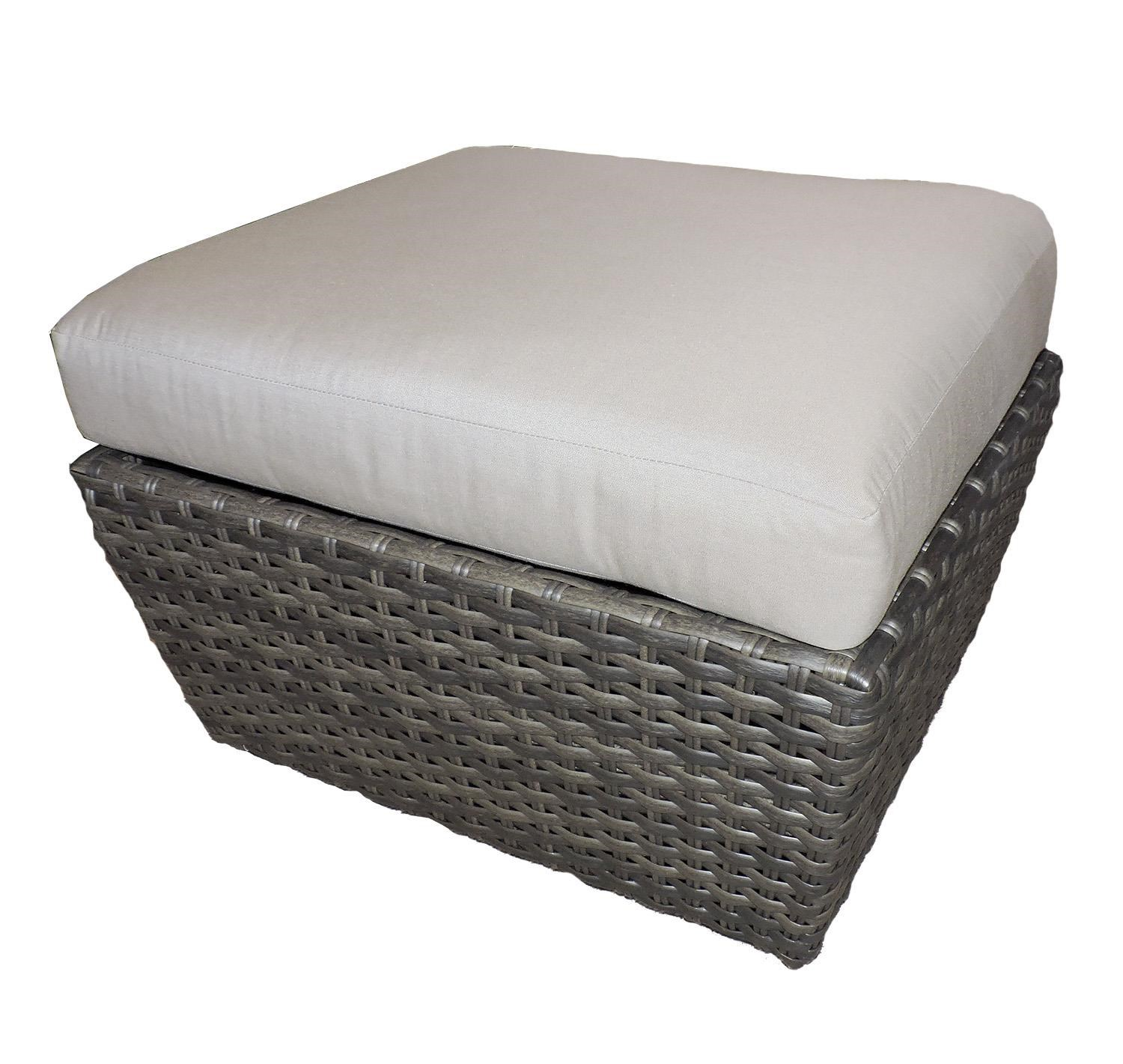 Belfort Outdoor Cascade Outdoor Ottoman - Item Number: W5099D OTTO 5461-0000