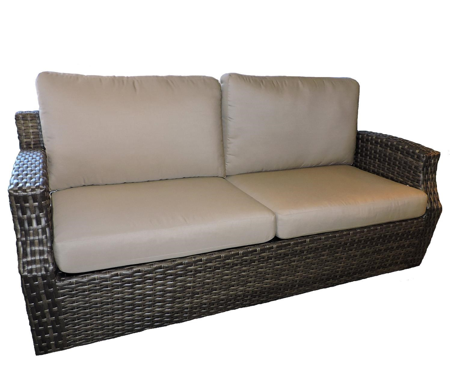 Belfort Outdoor Cascade Outdoor Sofa - Item Number: W5099D S 5461-0000