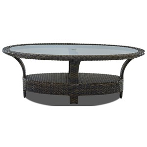 "Klaussner Outdoor Cassley 84"" Outdoor Dining Table"