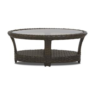 Klaussner Outdoor Cassley Oval Cocktail Table