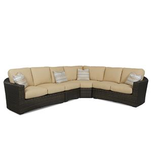 Klaussner Outdoor Cassley Sectional Sofa Group
