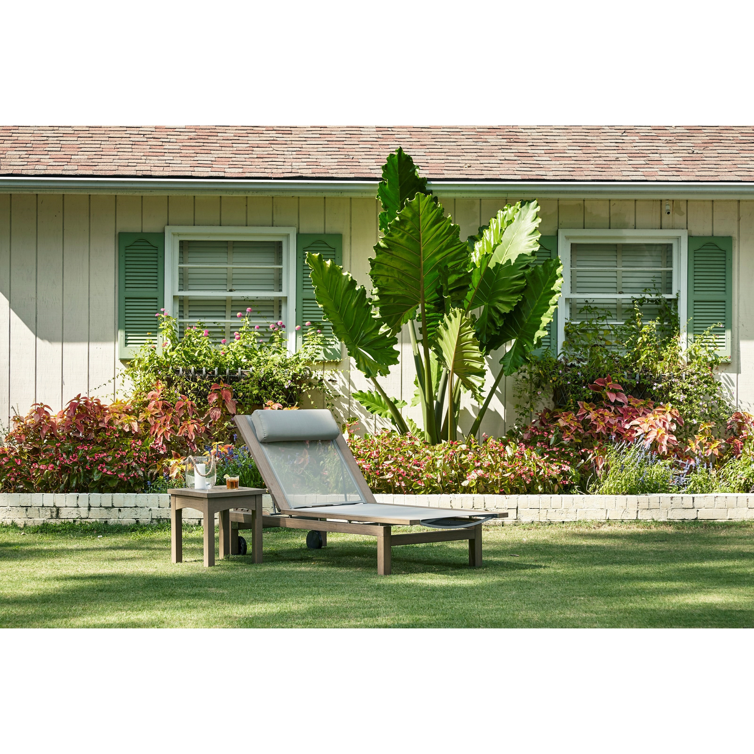 Klaussner Outdoor Delray W8502 Chase Adjustable Outdoor