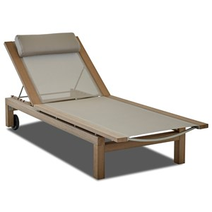 Klaussner Outdoor Delray Outdoor Chaise - Sling