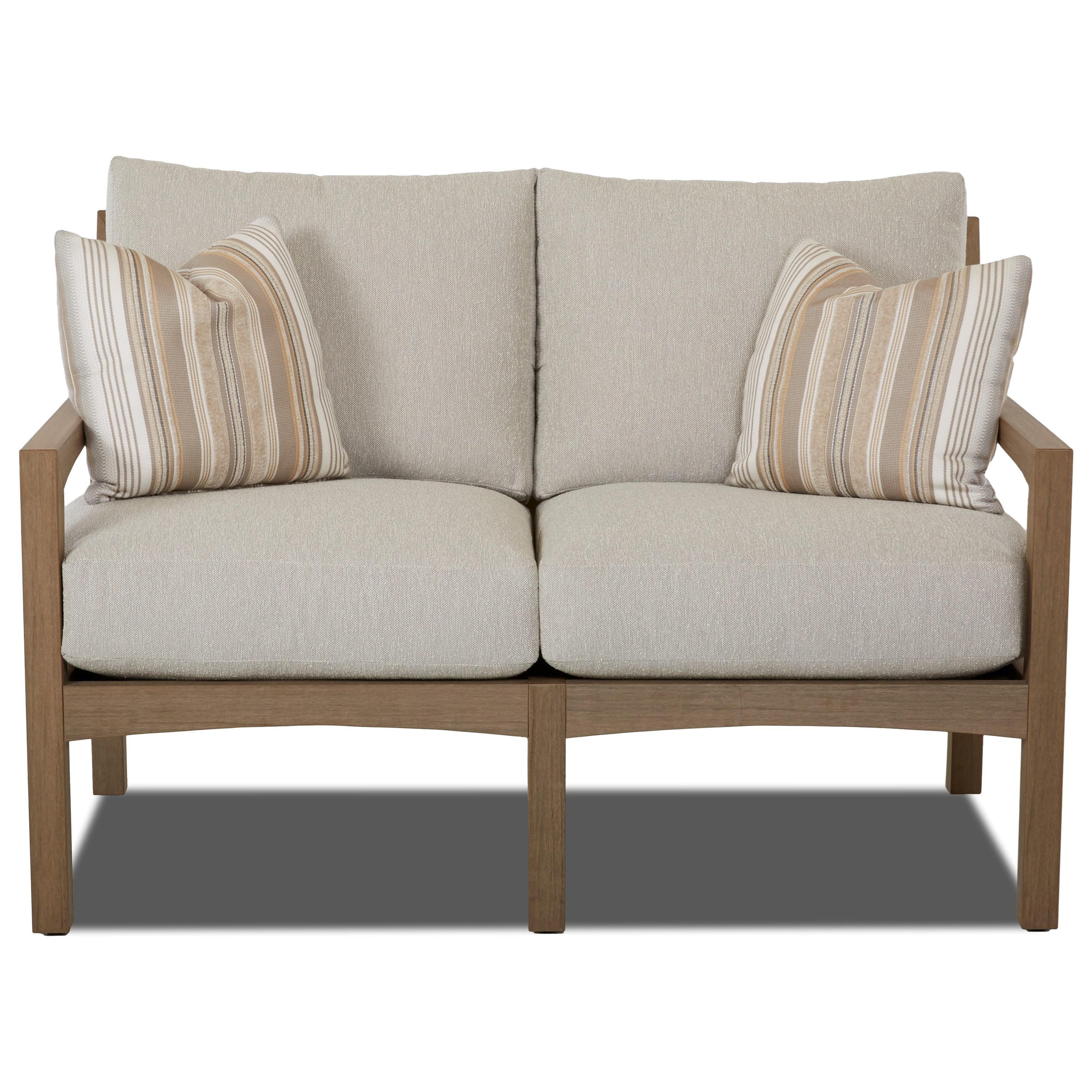 Loveseat w/ Drainable Cushion