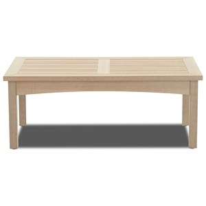 Klaussner Outdoor Delray Outdoor Rectangular Cocktail Table