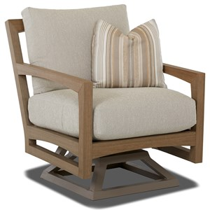 Klaussner Outdoor Delray Swivel Rocker Chair