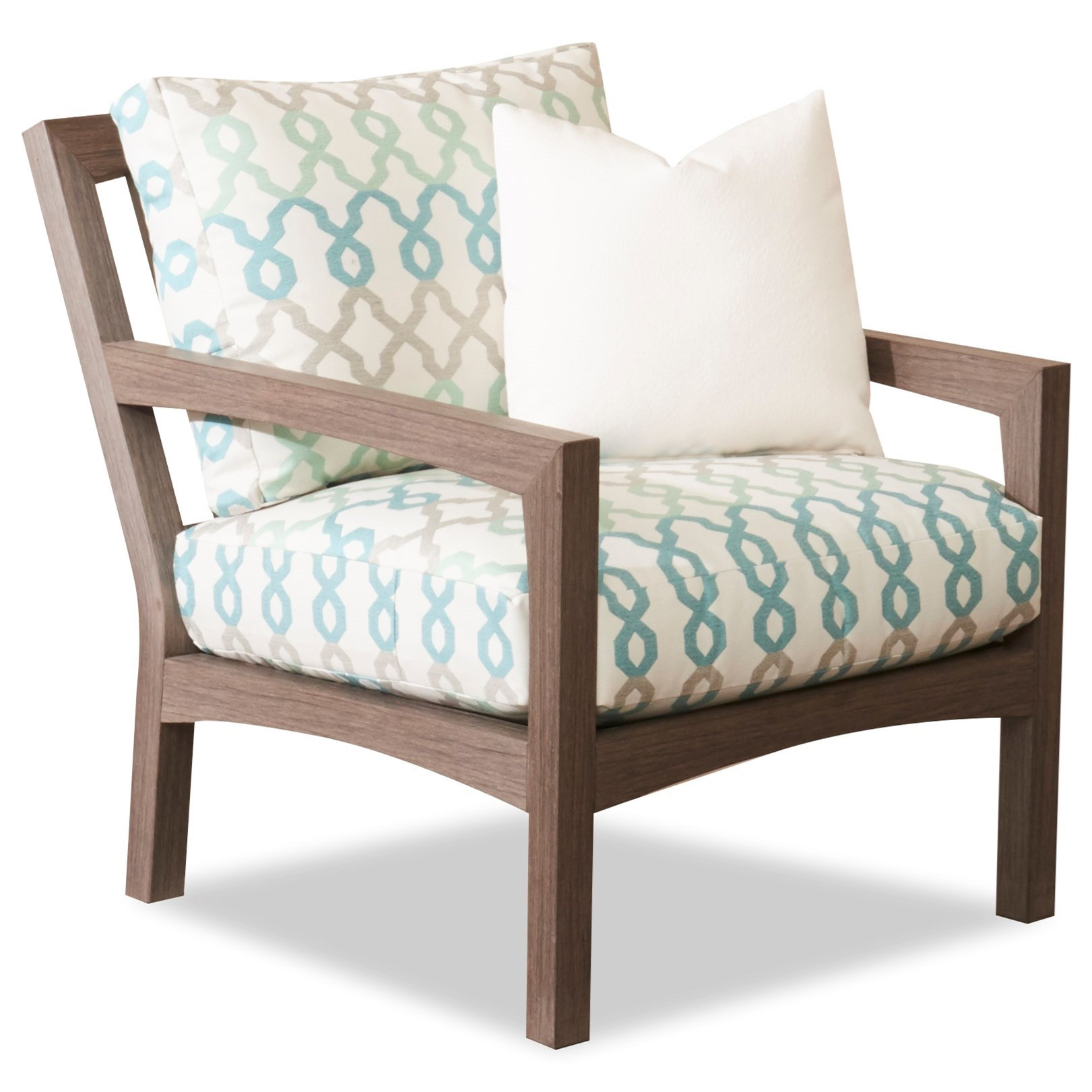 Outdoor Chair with Drainable Cushion