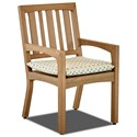 Klaussner Outdoor Delray 2 Pack Dining Chair - Item Number: W8512 DRC+W8512 CP
