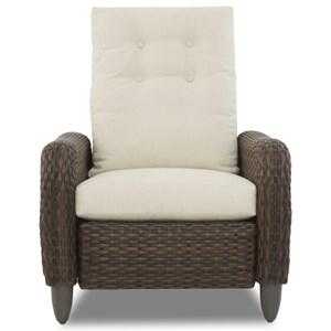 Pwr High Leg Recliner w/ Reversible Cushion
