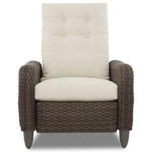 Pwr High Leg Recliner w/ Drainable Cushion