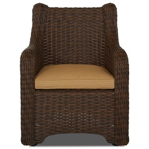 2 Pk Dining Chair w/ Reversible Cushion