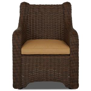 2 Pk Dining Chair w/ Drainable Cushion