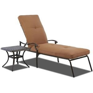 Klaussner Outdoor Lowell Bay Chaise Cushion