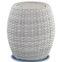 Klaussner Outdoor Mesa Round Accent Table - Item Number: W7501 RDAT