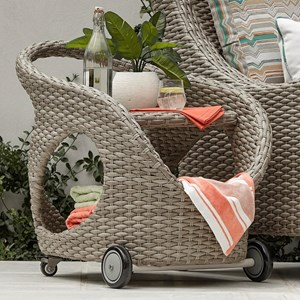 Serving Cart for Outdoor