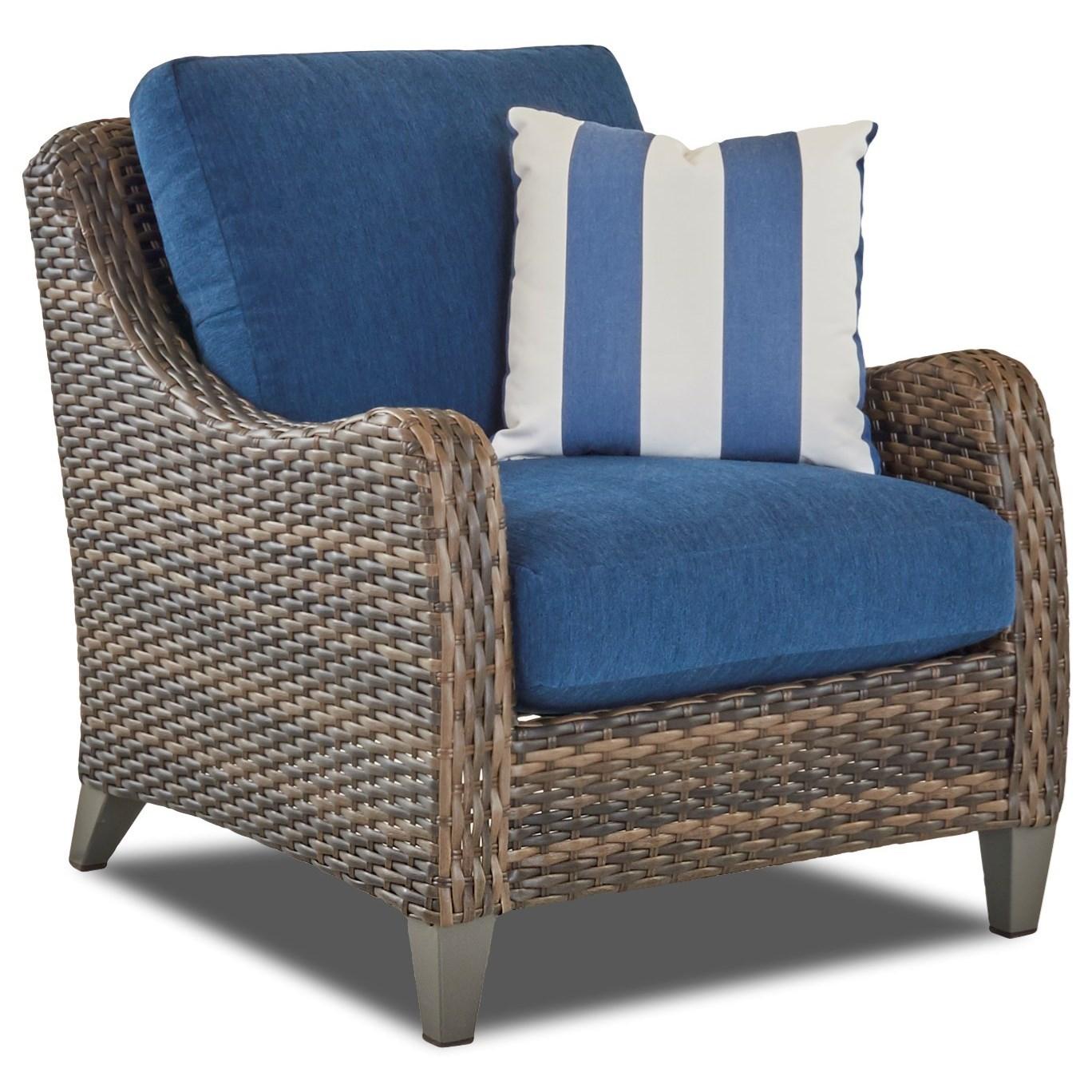 Klaussner Outdoor Mesa W7502 C Outdoor Lounge Chair