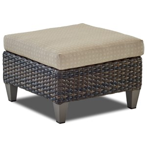 Ottoman with Drainable Cushion