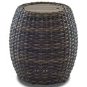 Klaussner Outdoor Mesa Round Accent Table - Item Number: W7502 RDAT