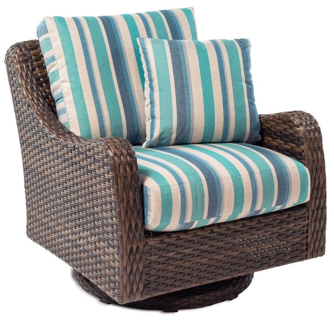 Tobago Outdoor Swivel Rocker With Drainable Cushion By Klaussner Outdoor At  Rotmans