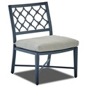 Klaussner Outdoor Mirage Dining Side Chair - Item Number: W2100 DSIDE