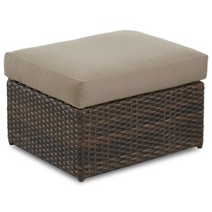 Ottoman w/ Reversible Cushion