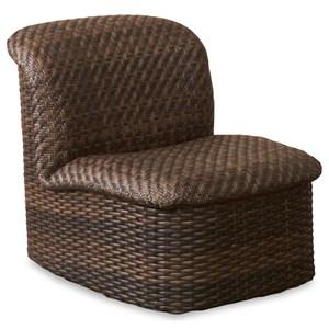Armless Outdoor Chair